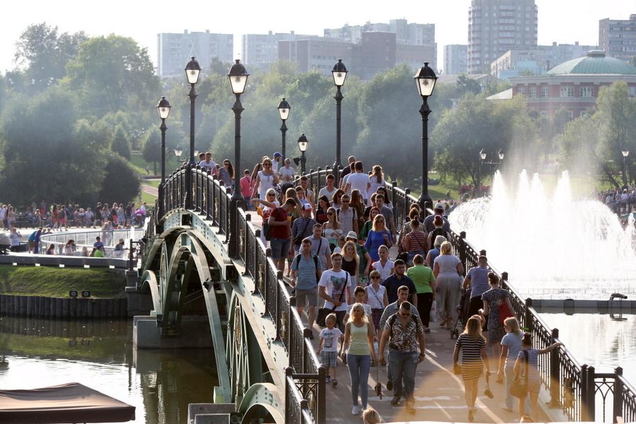В 20 парках Москвы пройдут праздничные мероприятия 19 мая