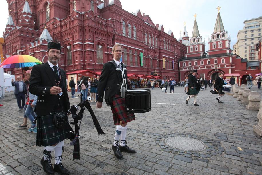 Зарубежные участники музыкального фестиваля на Красной площади