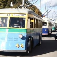 Парад ретротроллейбусов