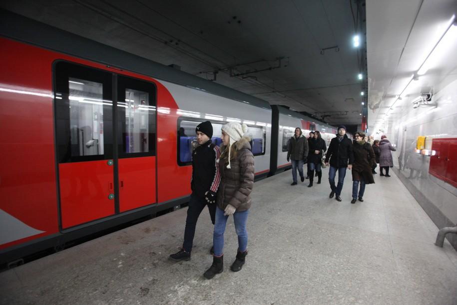 В будние дни МЦК перевозит более 300 тысяч пассажиров