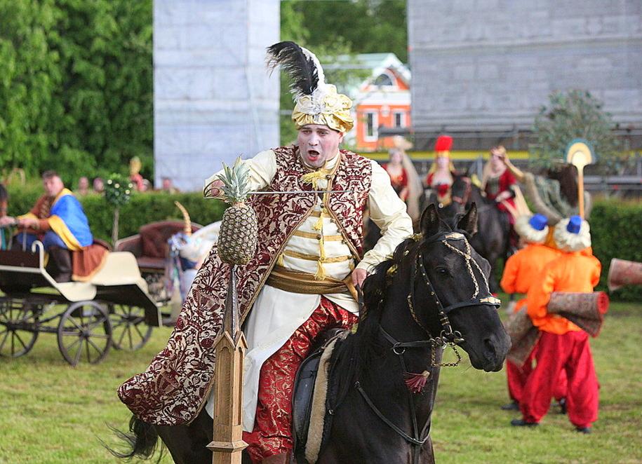 Фестиваль Времена и эпохи в Царицыно