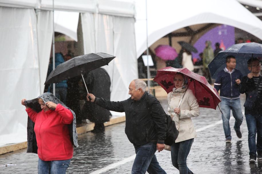 К выходным в столицу вернутся проливные дожди