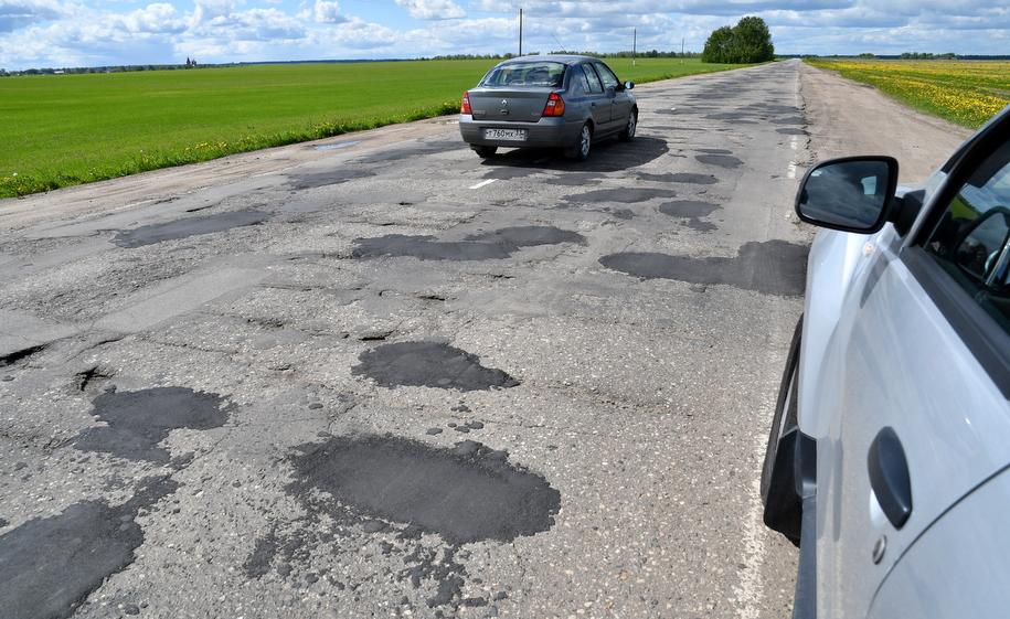 Дорога в Ивановской области
