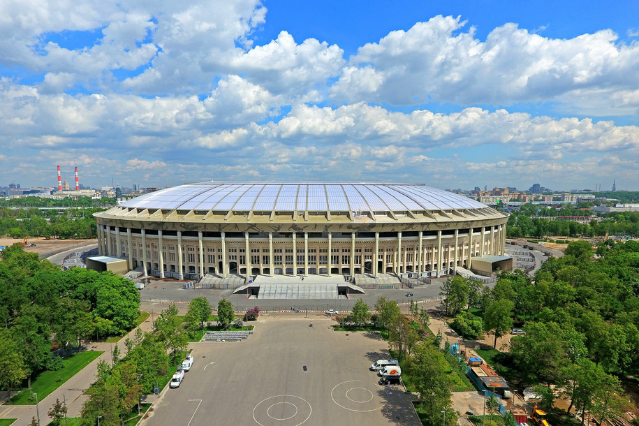 Стадион «Лужники» сдан в эксплуатацию