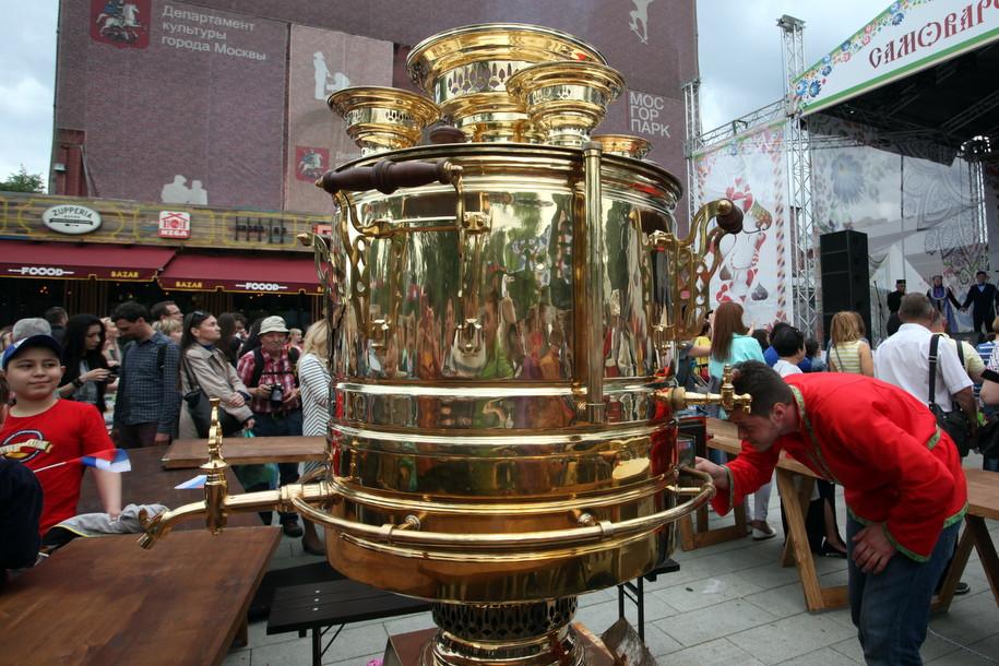 Новая традиция: московский Самоварфест