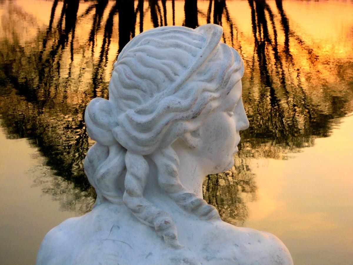 Скульптура в парке Царицыно