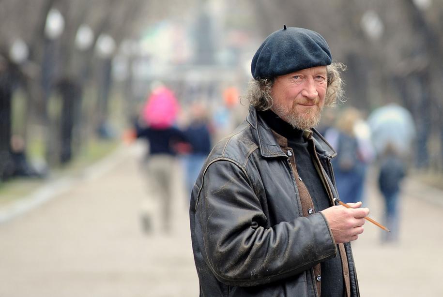 Художник Слава Грунцов