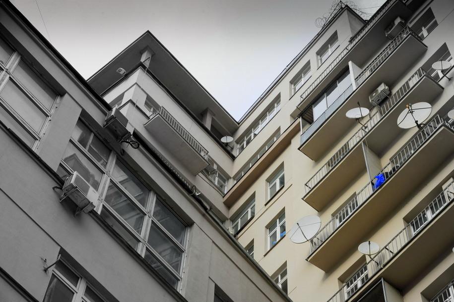 Фасад Дома на набережной