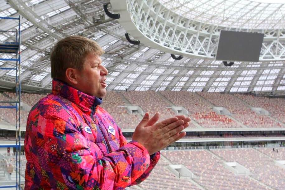 Дмитрий Губерниев восхитился ареной «Лужники»