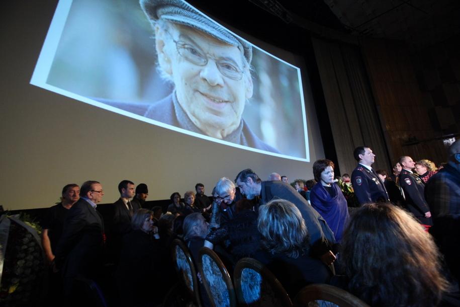 Прощание с Алексеем Баталовым в Большом зале Центрального дома кинематографистов
