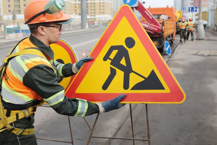На Бульварном кольце стартовал ремонт дороги