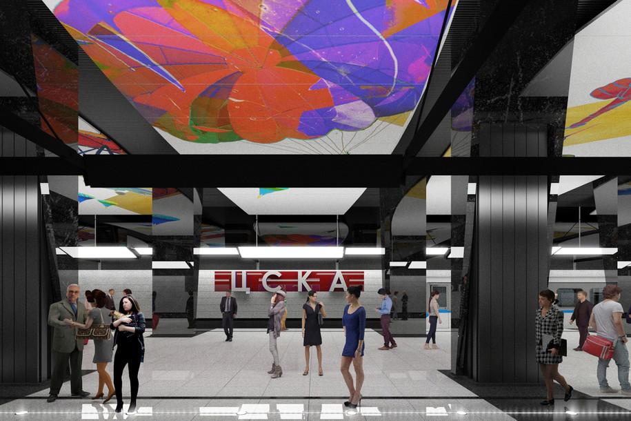 Станцию метро «ЦСКА» откроют ко Дню города