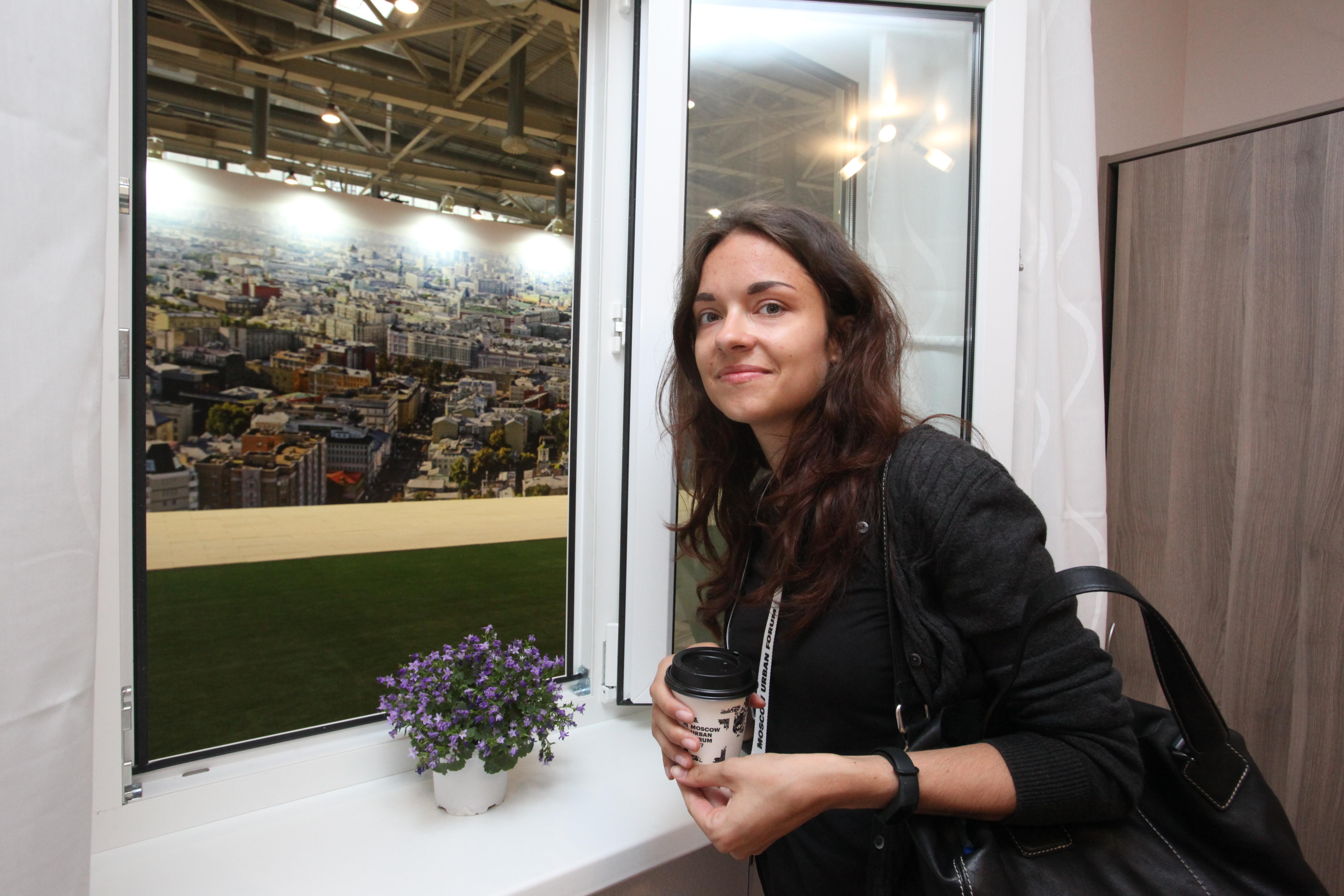Шоу-рум реновационного жилья на Московском урбанистическом форуме