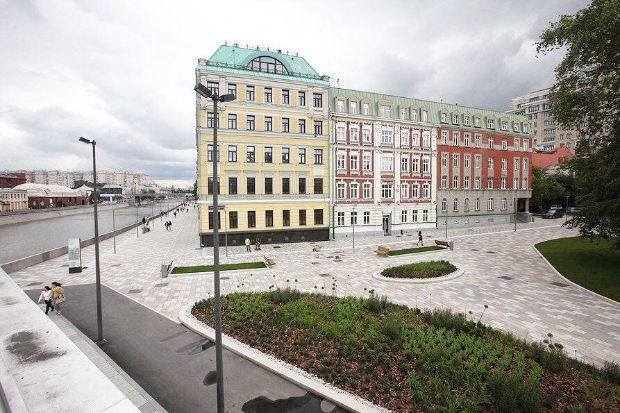 В Москве отремонтируют 120 км городских набережных
