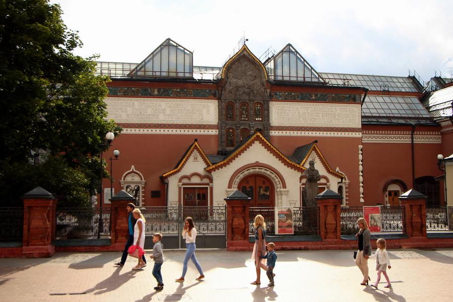 «Третьяковка» открыла внутренний дворик музея