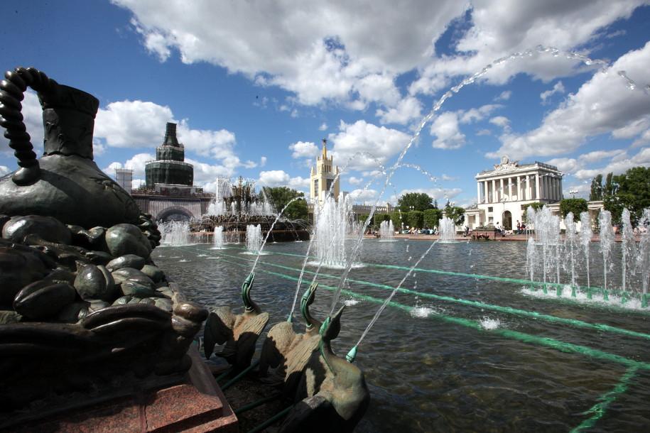 На ВДНХ началась реставрация исторических фонтанов