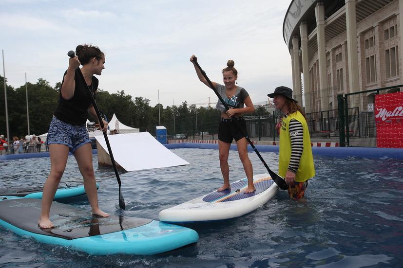 Фестиваль Moscow City Games в Лужниках