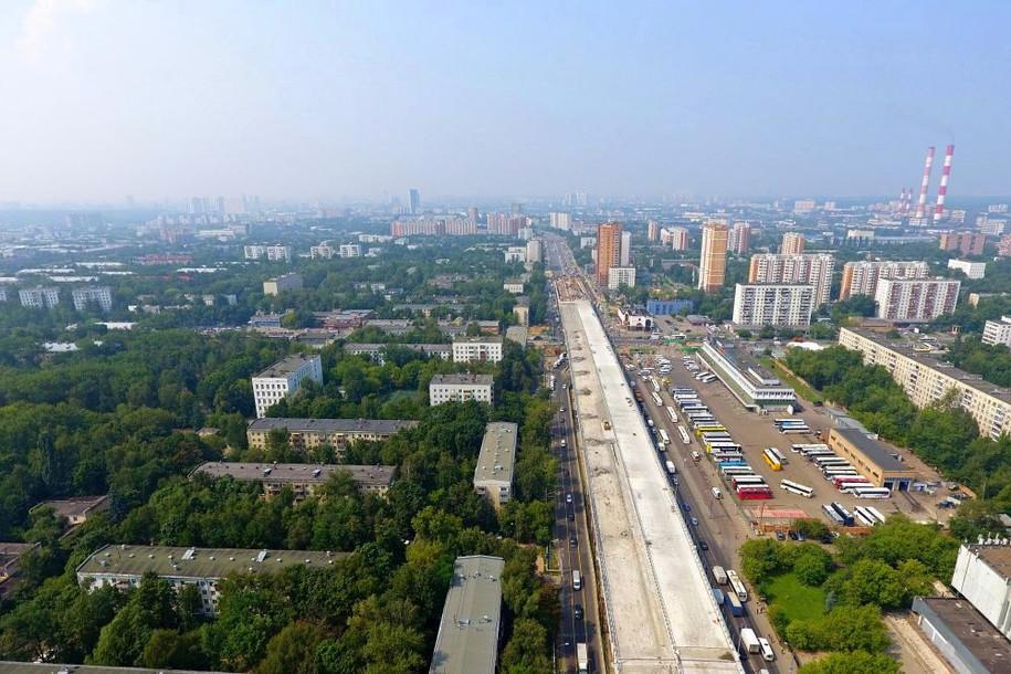 Движение по Щелковскому шоссе откроется осенью