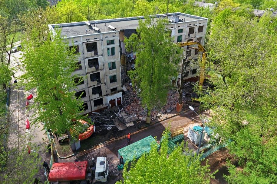 Мэр утвердил список домов, вошедших в реновацию