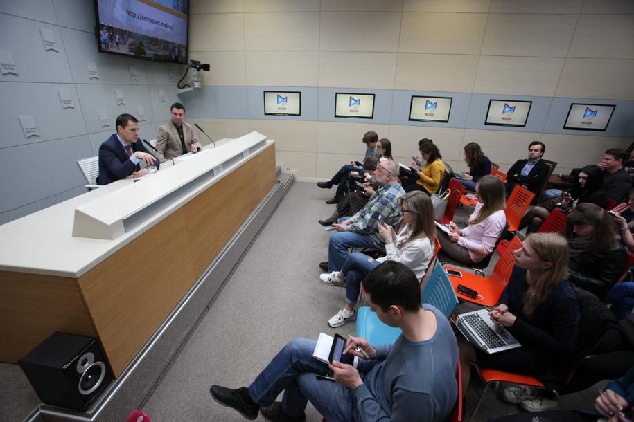 Пресс-конференция главного архитектора Москвы Сергея Кузнецова