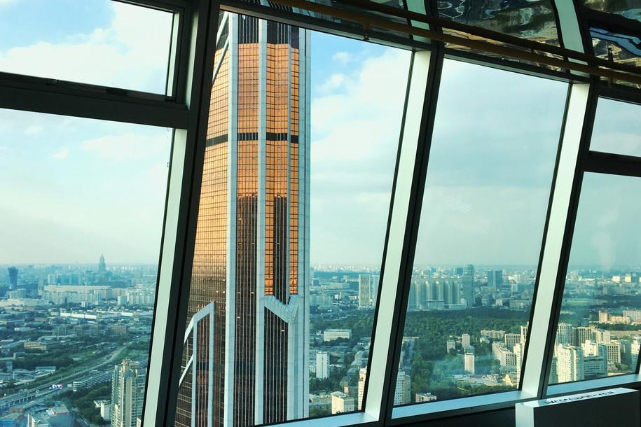 «Москва-Сити»: смотровая и музей на 56-м этаже
