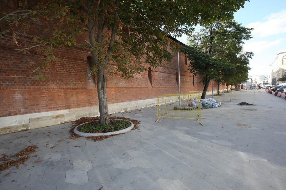 Фрагмент древнейстены Китай-города