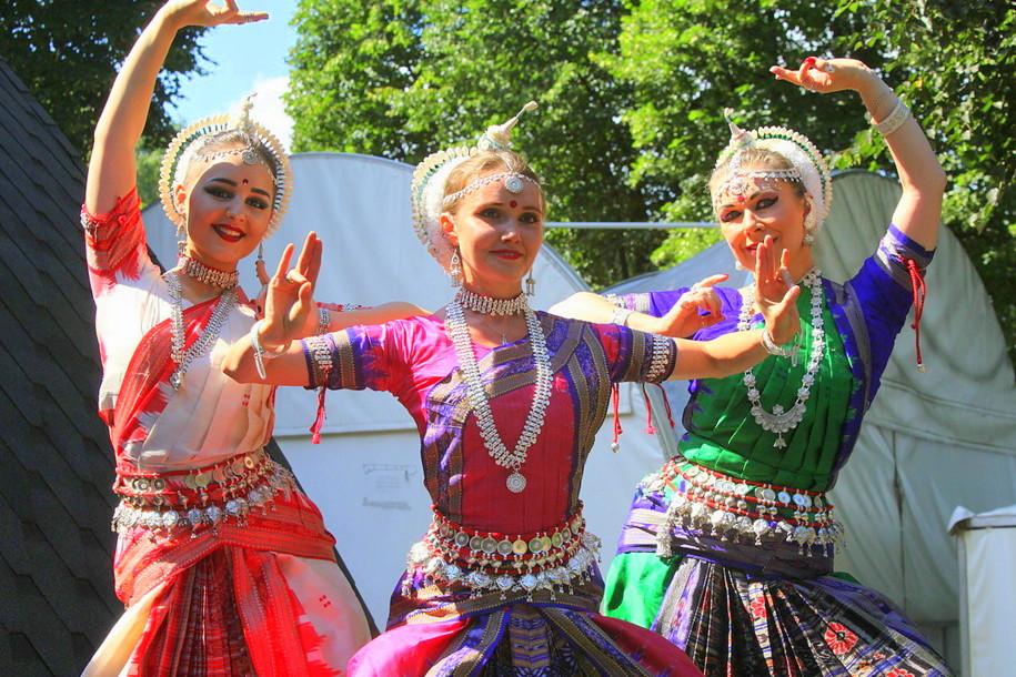 День независимости Индии в парке Сокольники