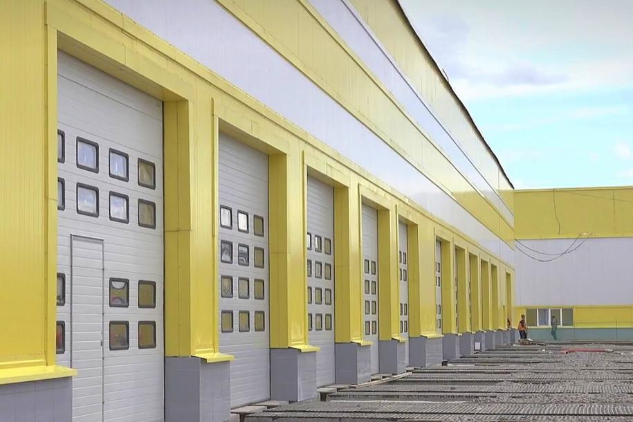 Завершается строительство крупнейшего электродепо