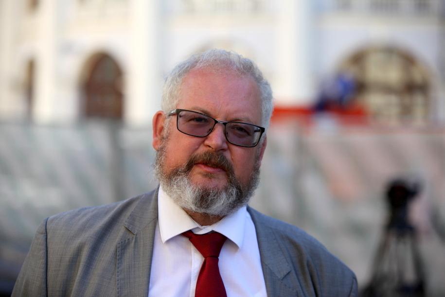 Портрет главного археолога Москвы Леонида Кондрашева