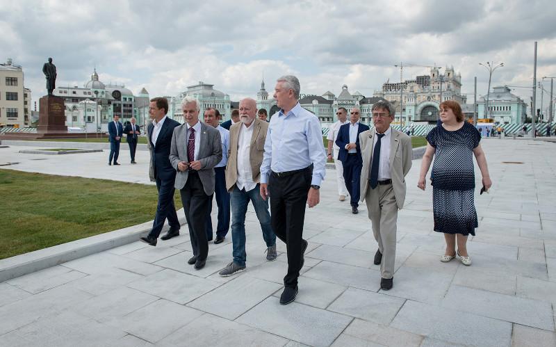 Площадь Тверская Застава откроется в сентябре