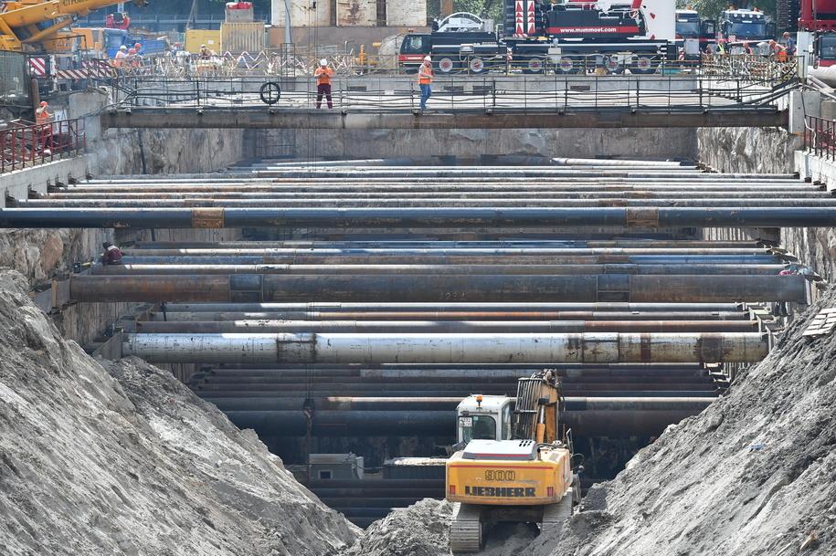 Будущий перегонный тоннель участка ТПК