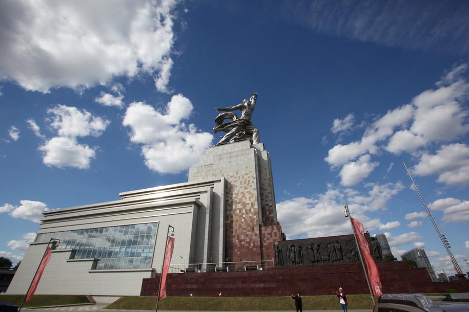 Музейно-выставочный центр Рабочий и колхозница в Москве