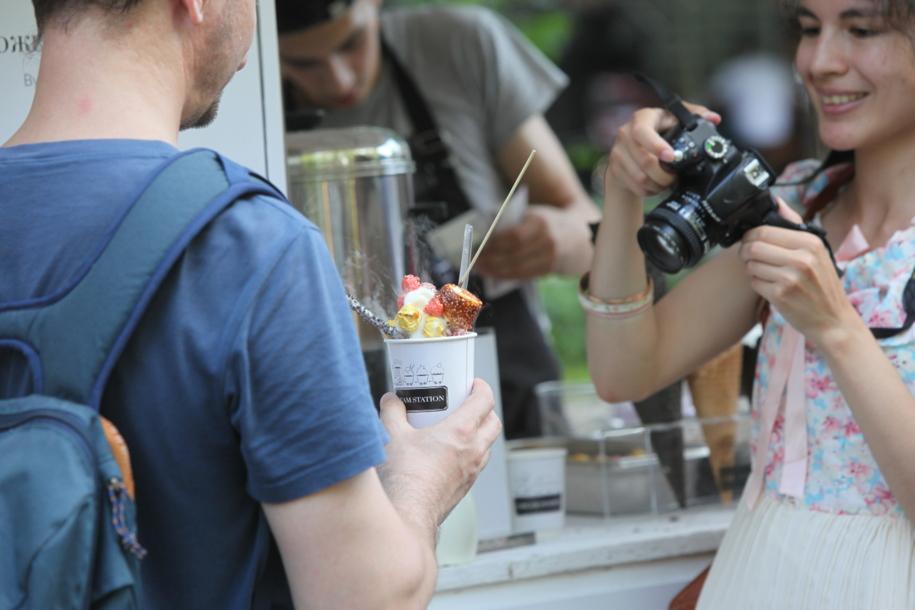 Фестиваль мороженого в парке Сокольники
