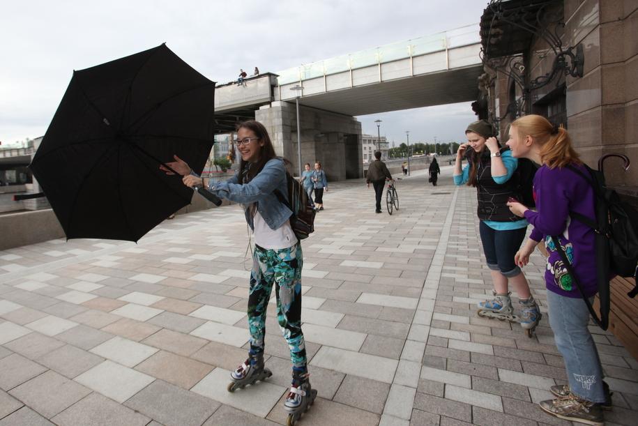 Сегодня в Москве ожидается облачная погода и кратковременный дождь
