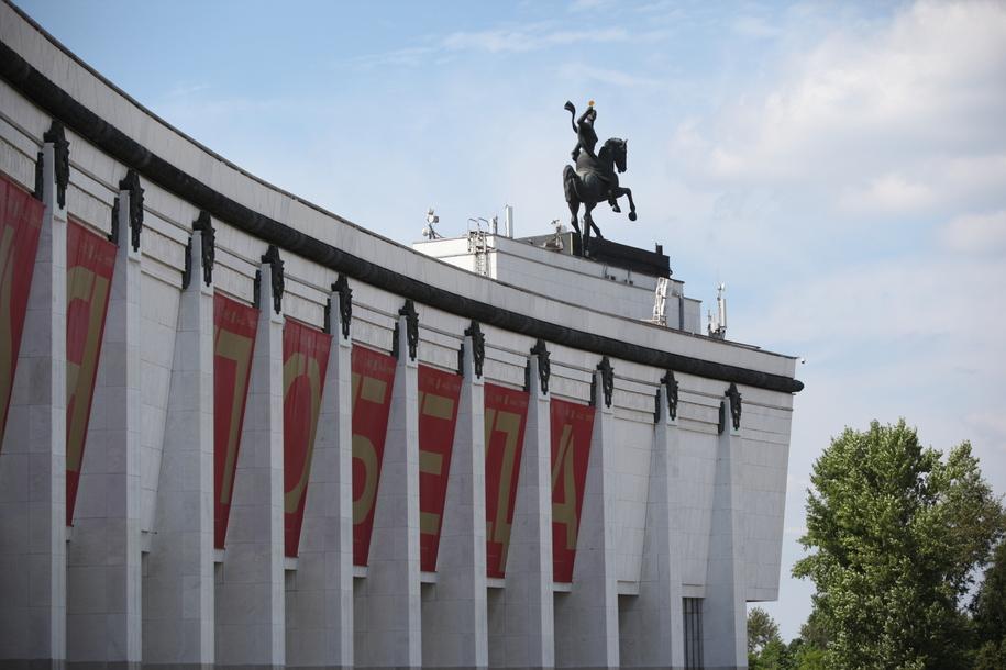 Музей Победы на Поклонной горе на Кутузовском проспекте