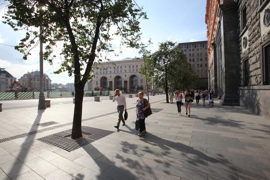 Площадь в центре Москвы назвали в честь архитектора Бове