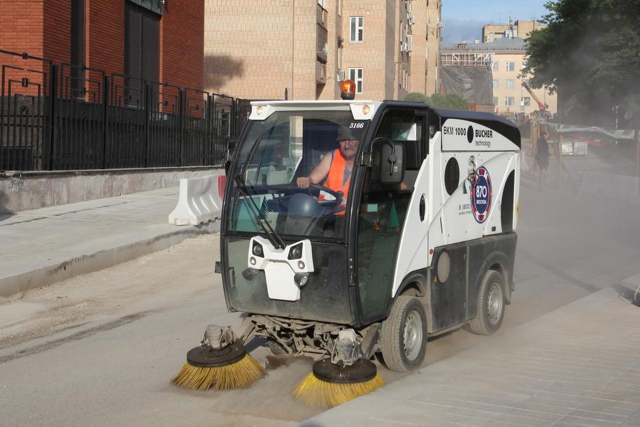 Спецтехника по уборке улиц