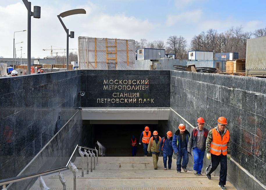 Для москвичей проведут экскурсию на строящуюся станцию метро