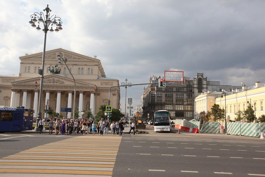 В Москве загорелось здание Центробанка на Неглинной улице