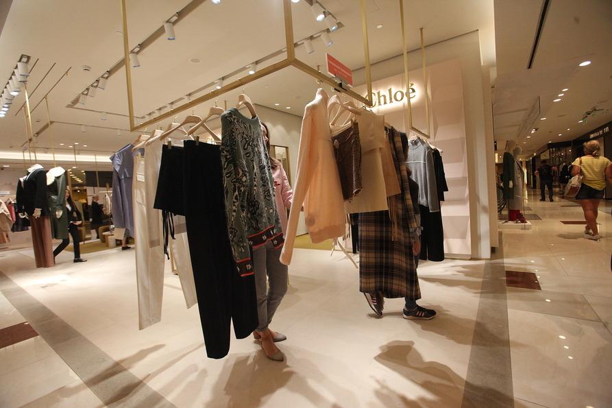 Салон женской одежды Chloe в ЦУМе