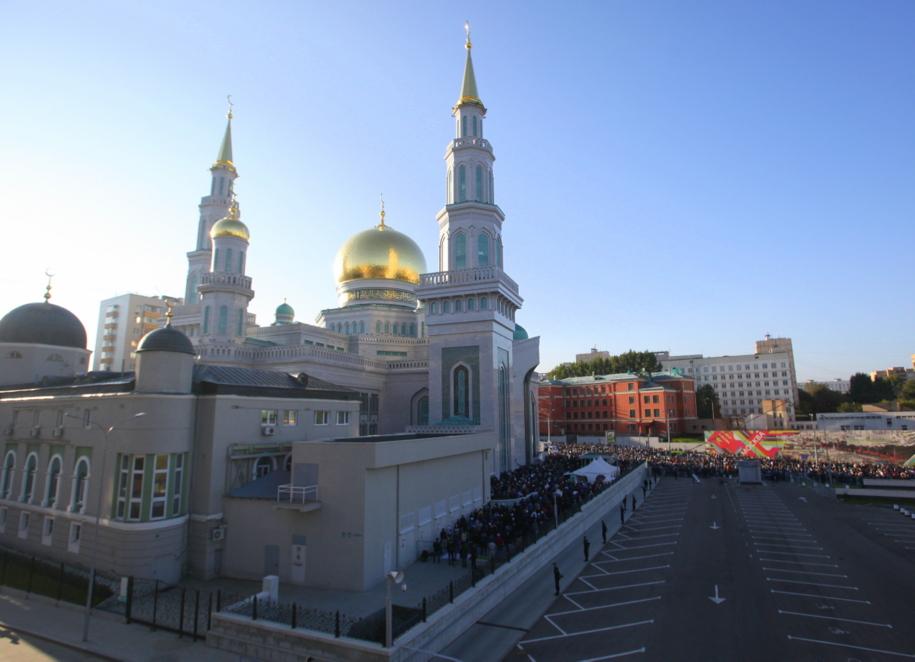 Московская соборная мечеть в Москве на проспекте Мира