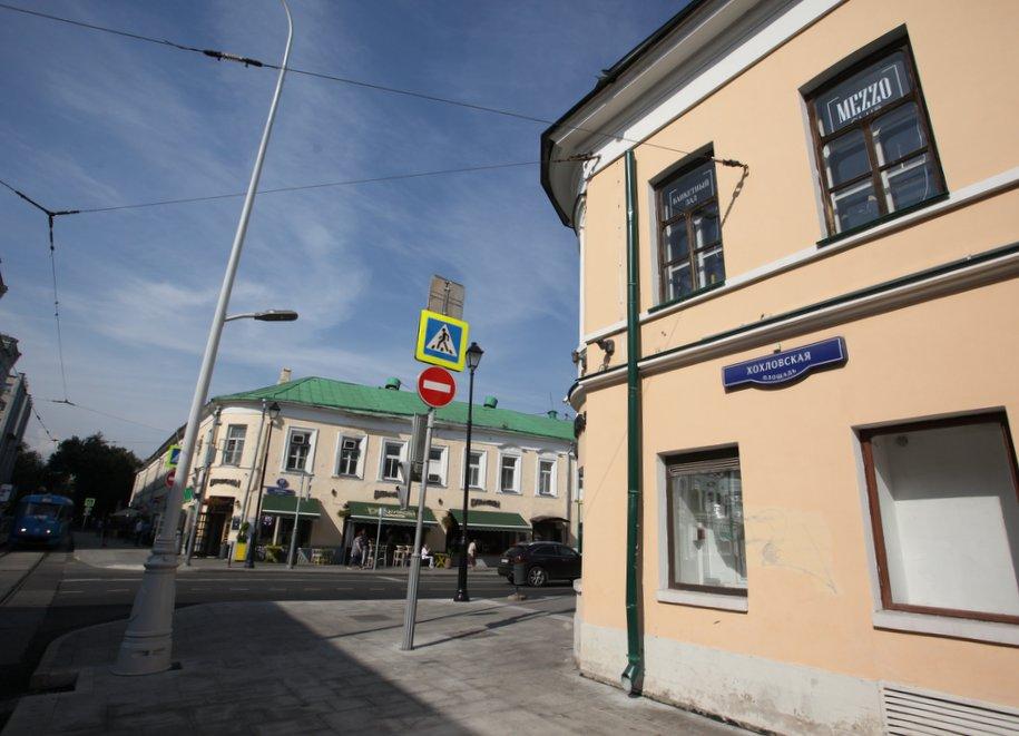 Дома на Хохловской площади