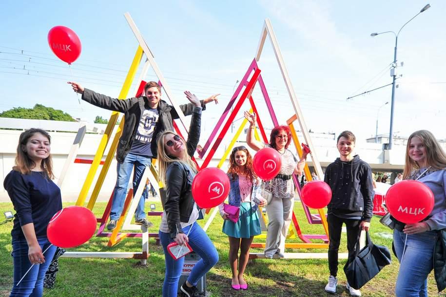 Более 12 тысяч человек отпраздновали годовщину МЦК