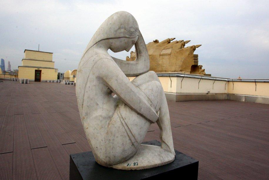 Скульптура из парка Музеон