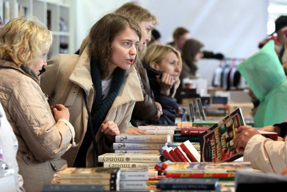 Открылась книжная выставка-ярмарка в Москве