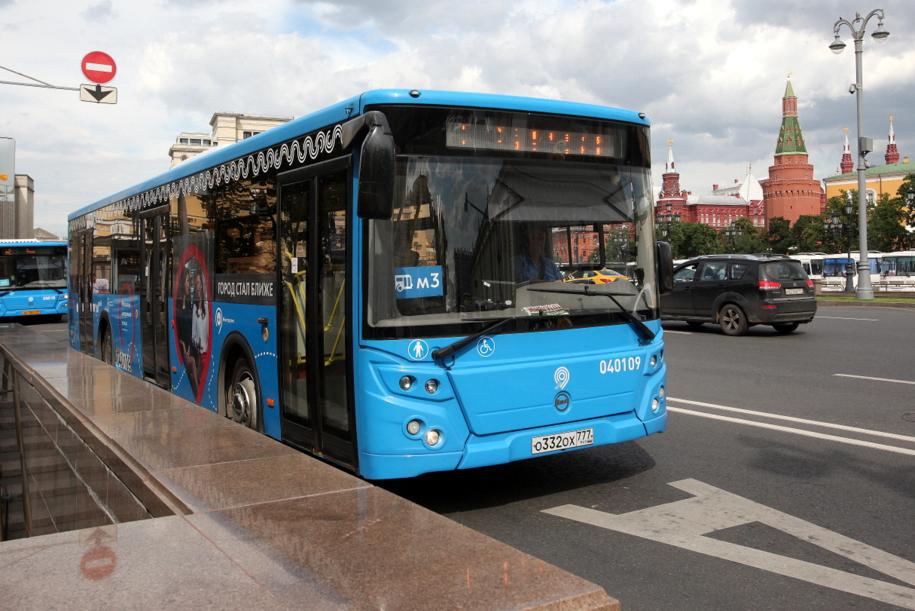 Движение транспорта в центре Москвы изменится