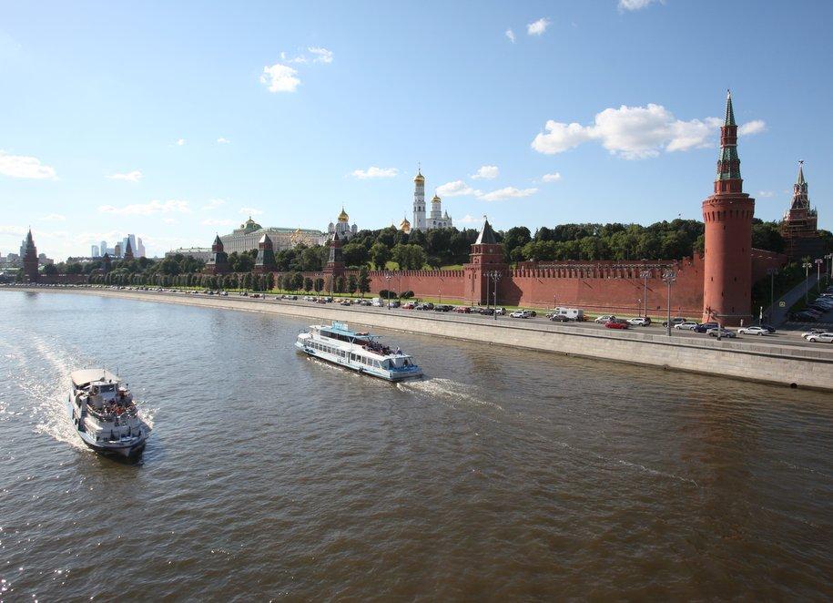 Власти Москвы займутся организацией речных пассажирских маршрутов