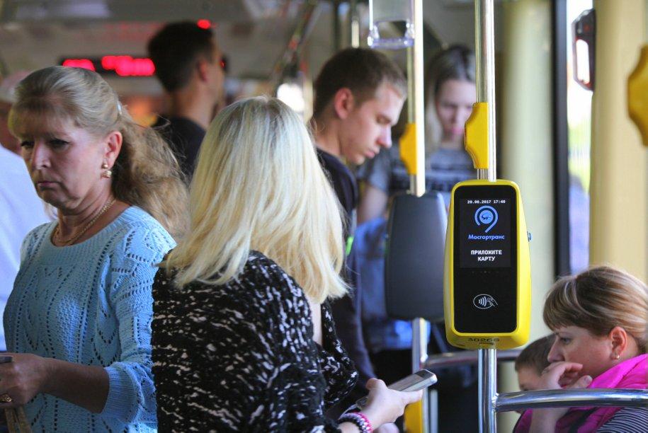 Собянин: число поездок нагородском транспорте выросло неменее чем на9%