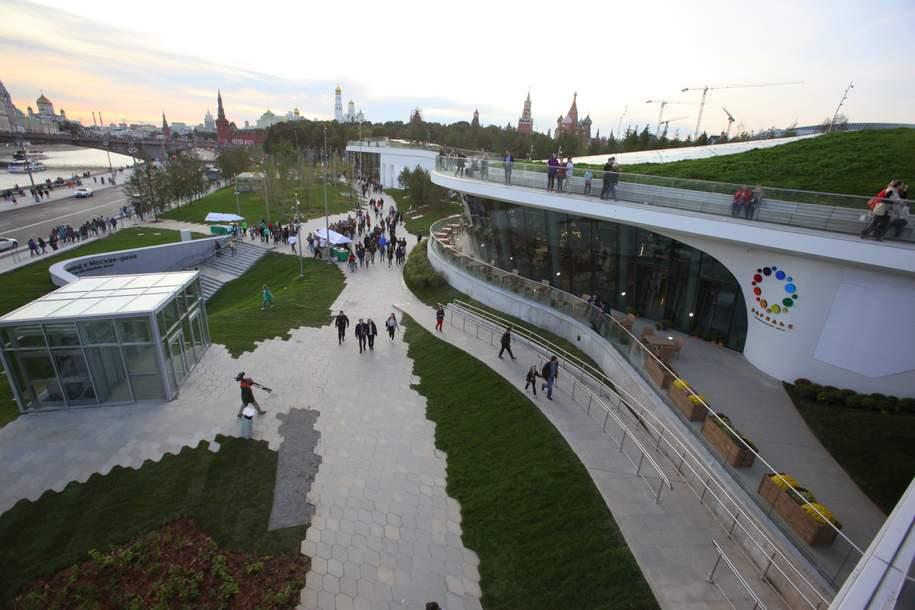 Мэр объявил о завершении строительства концертного зала «Зарядье»