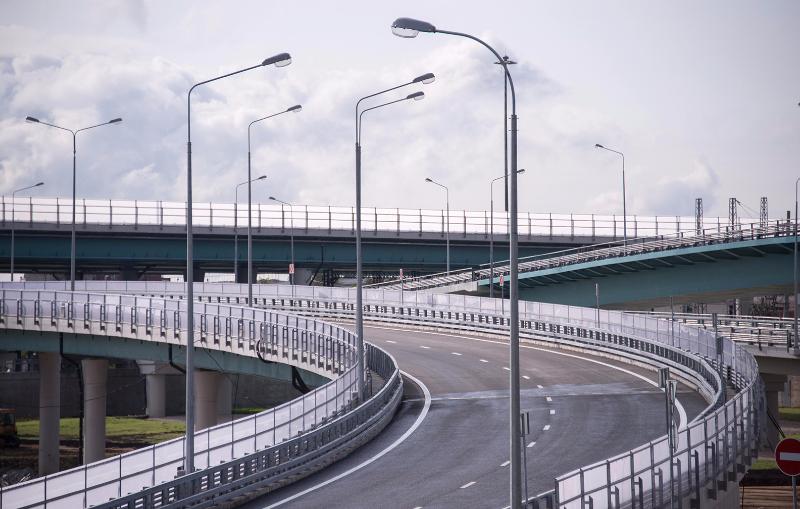 Открыто движение по эстакаде на развязке СВХ с шоссе Энтузиастов